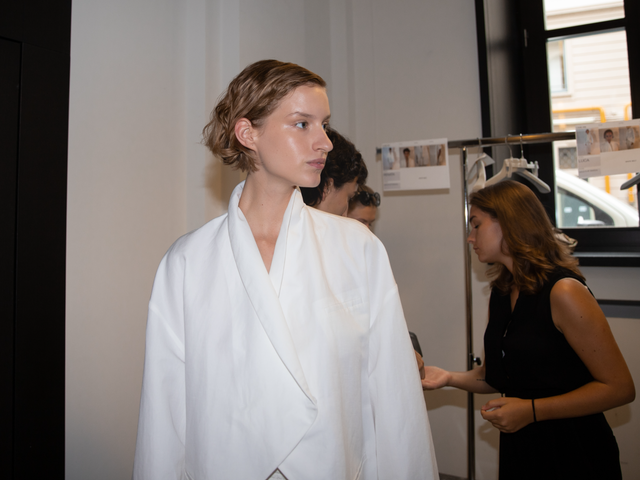 Calcaterra 20SS Backstage