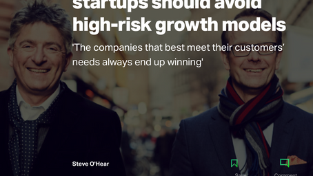 "Oxx in TechCrunch: ""The companies that best meet their customers' needs always end up winning."""