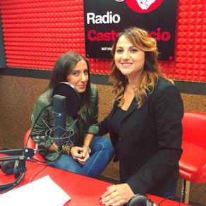 Simona Di Lucia in diretta on air  a Radio Castelluccio