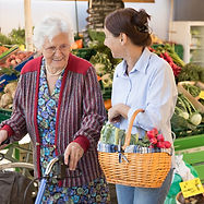 Carer help shopping