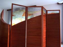 wood glass spearè