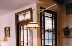 lampadario liberty vetro