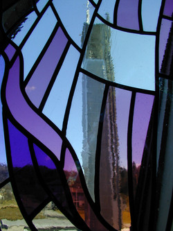 stained glass Mas Peron