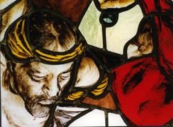 vetrata crocifissione