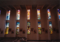 Creation stained glasses