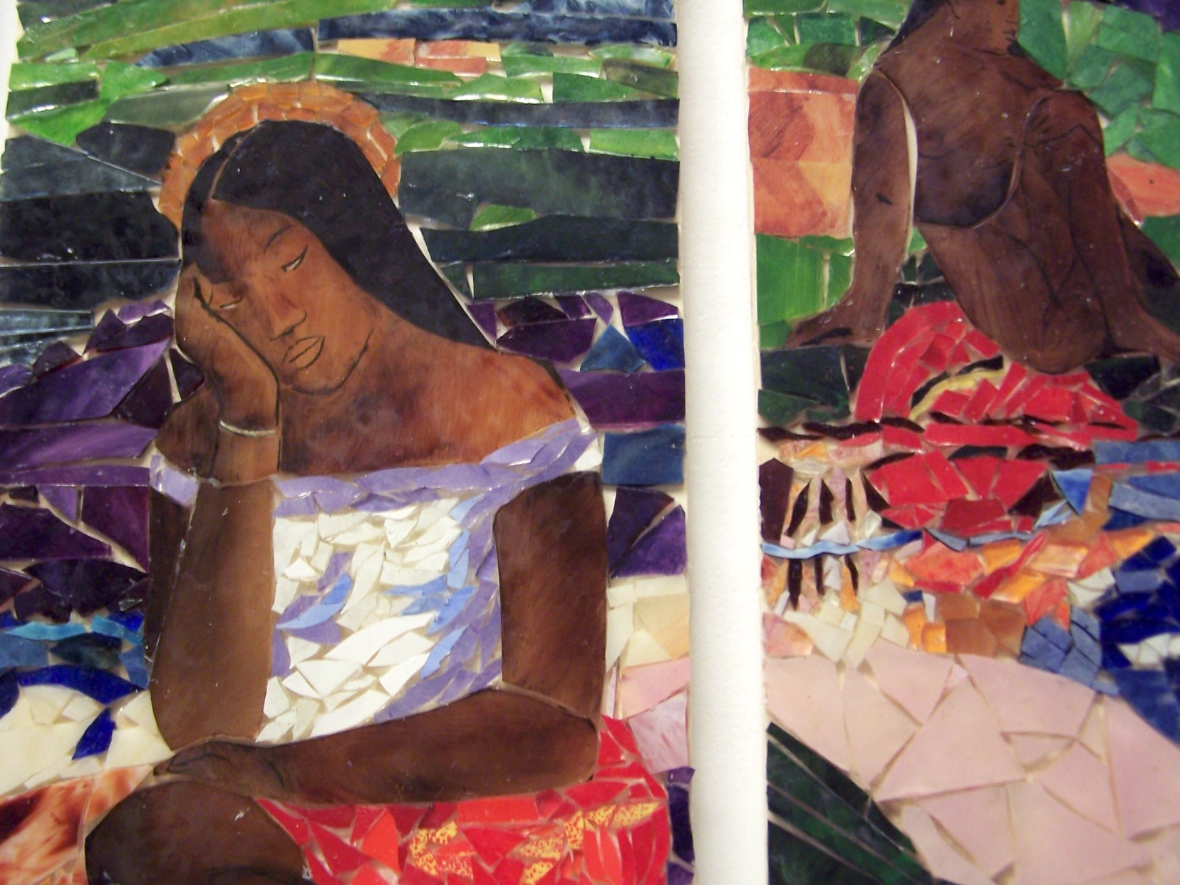 Gauguin glass mosaics