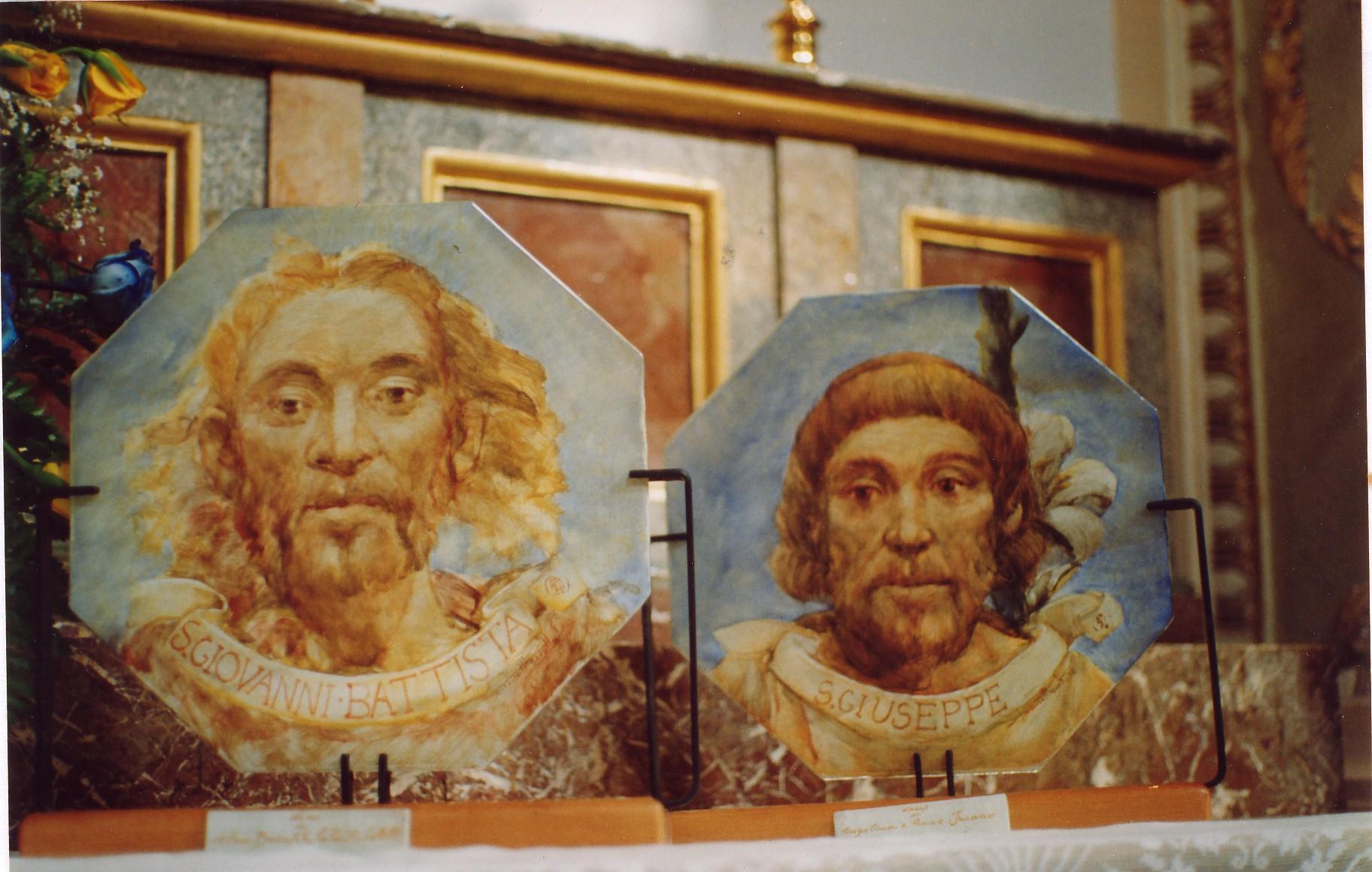 St. John Baptist and St, Joseph