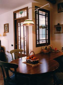 vetrata classica porta e finestra