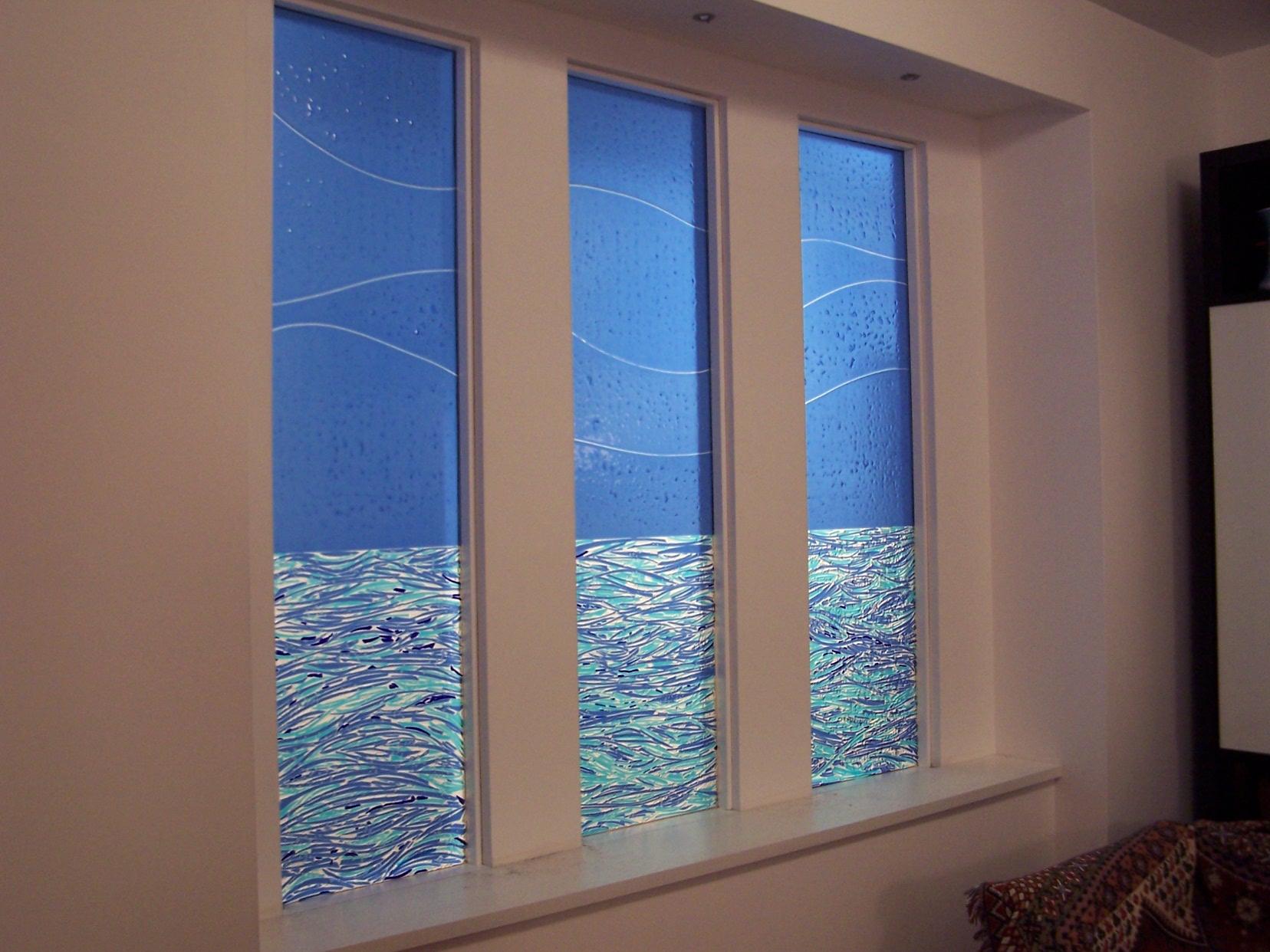 colored glass windows