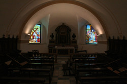 Weeping Madonna church