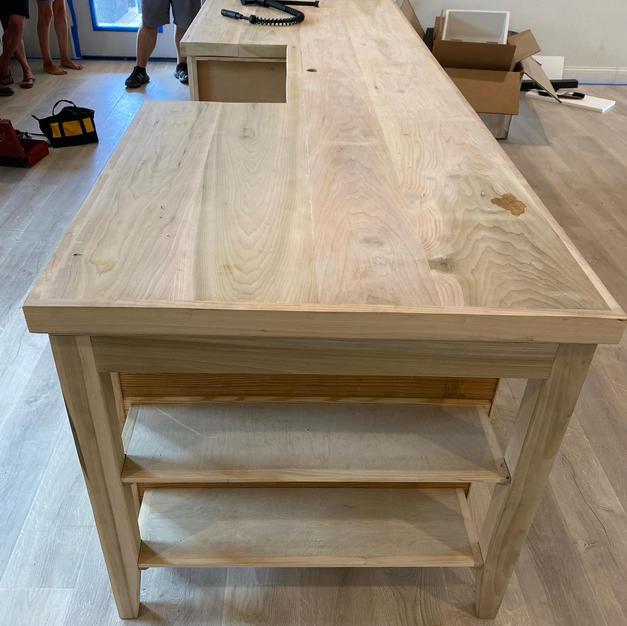 Poplar Wide plank
