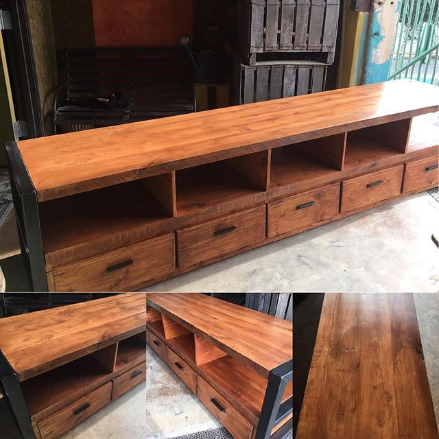 Industrial Computer -Tv Console by Junk