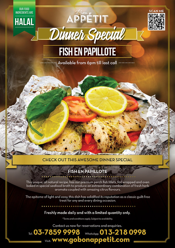 Dinner Special_FISH EN PAPILLOTE_WHATSAP