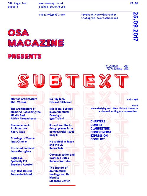 OSA Issue 8 - Subtext ll