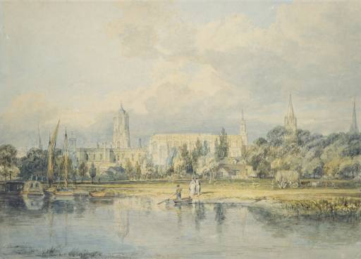 Image Credit: Tate Museum, https://www.tate.org.uk/art/artworks/turner-south-view-of-christ-church-from-the-meadows-tw0692