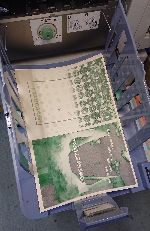 Second Colour Print