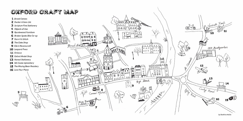 Map from previous OSA issue (Craft)// See Sample