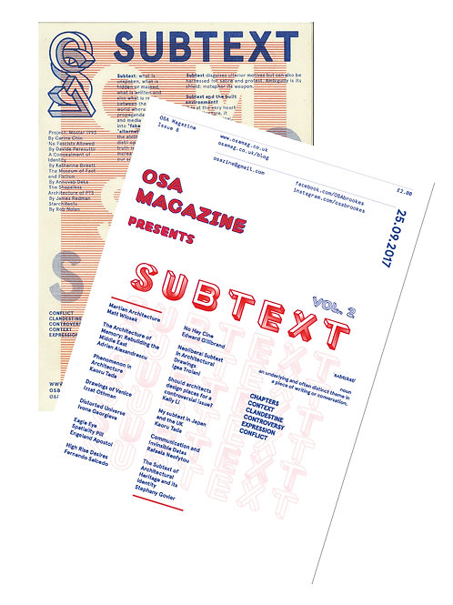 OSA Issue 7&8 - Subtext Bundle