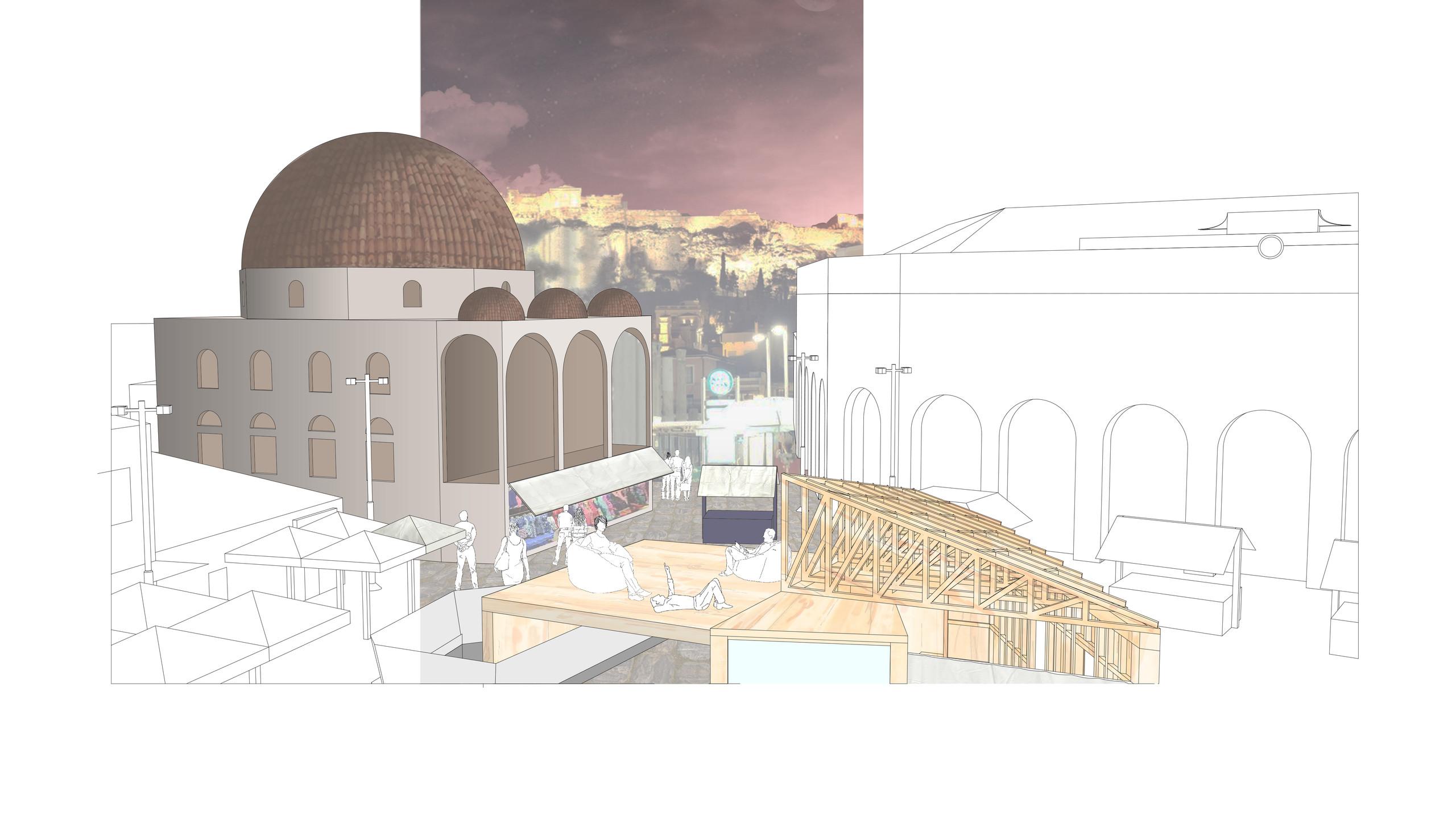 acropolis view render