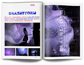 OSA Magazine spreads