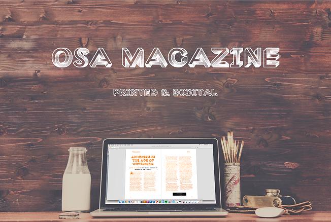 OSA Magazine: Printed and Digital