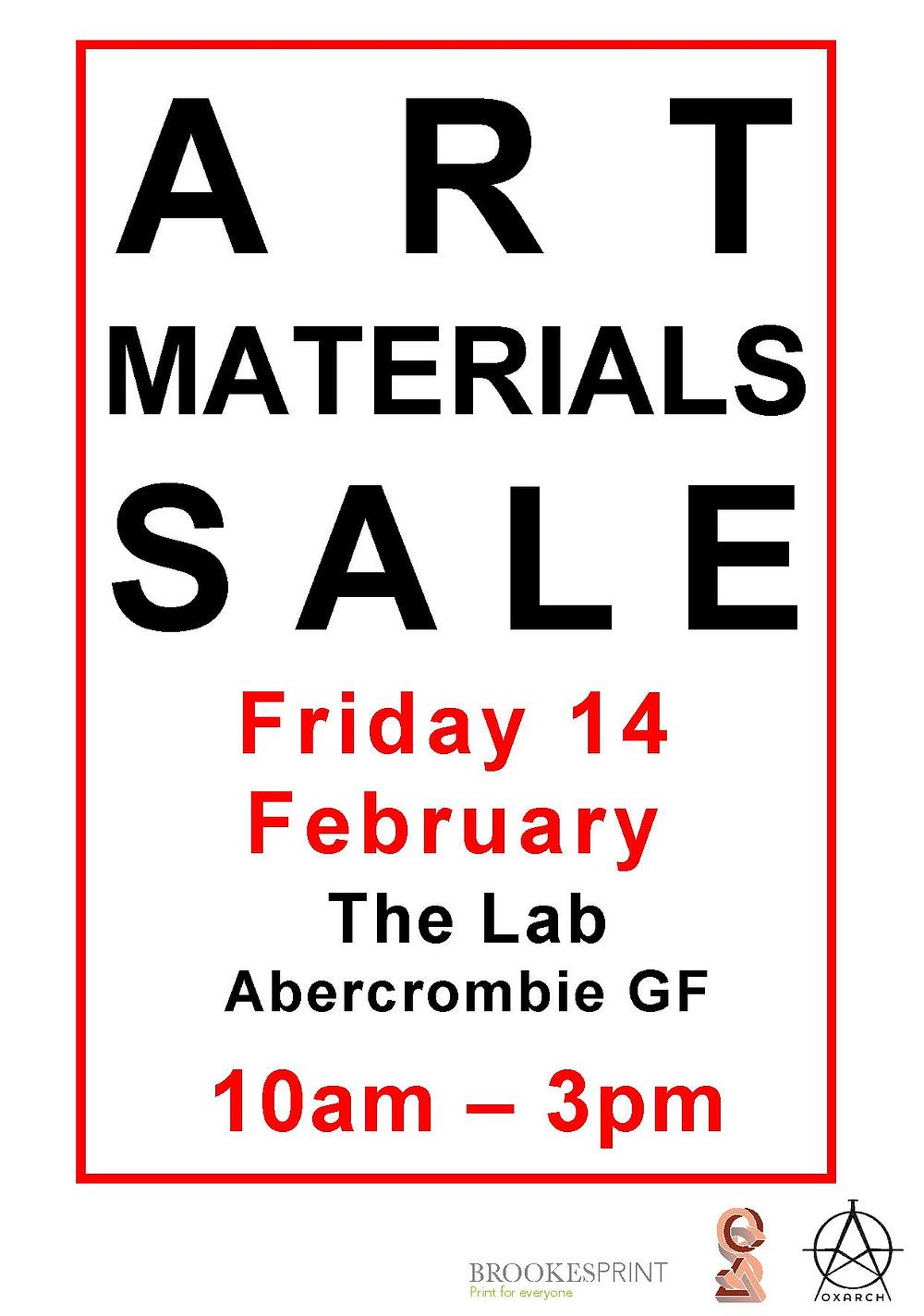 OxArch Art Sale