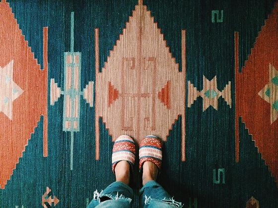 Profesionálně vyčištěný koberec