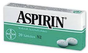 Medicine-CatA-SectionB-X001-Aspirin-Typ1