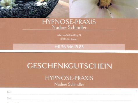 Hypnose-Gutscheine bestellen....