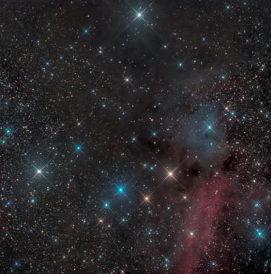 Les nébuleuses SH2-150 et VDB154