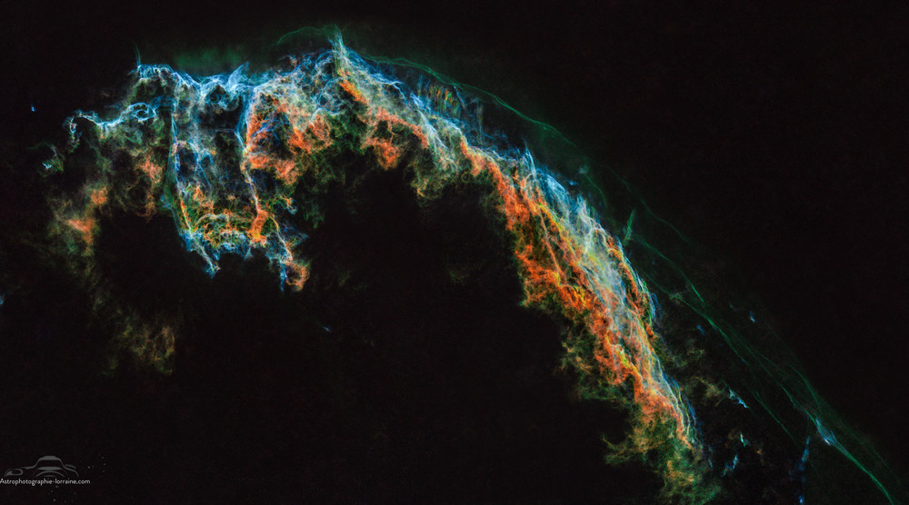 Rémanent de supernovae (version Starless)