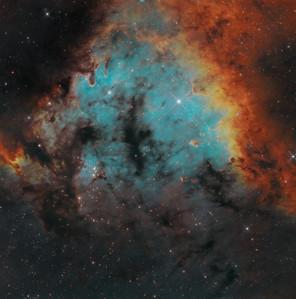 The nebula NGC7822