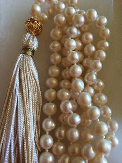 Fresh Water Pearls Mala Necklace