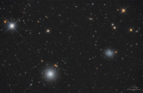 M53 et NGC 5053