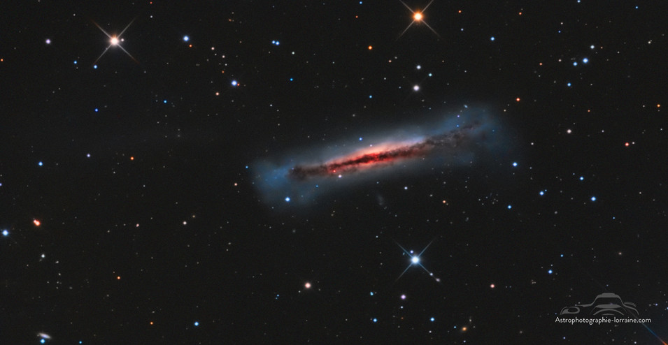 The Hamburger Galaxy