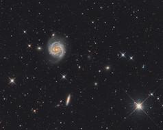 The M100 galaxy