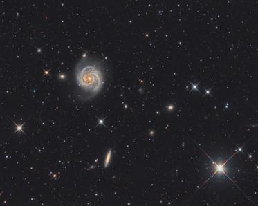 La galaxie M100
