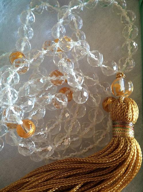 Cystal Mala (108 beads)