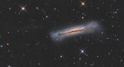 The hamburger galaxy