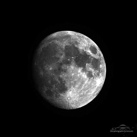 La lune gibbeuse