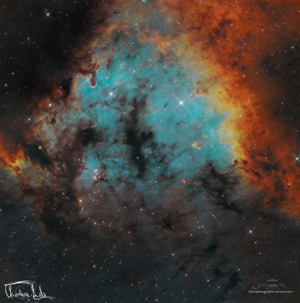 La nébuleuse NGC7822