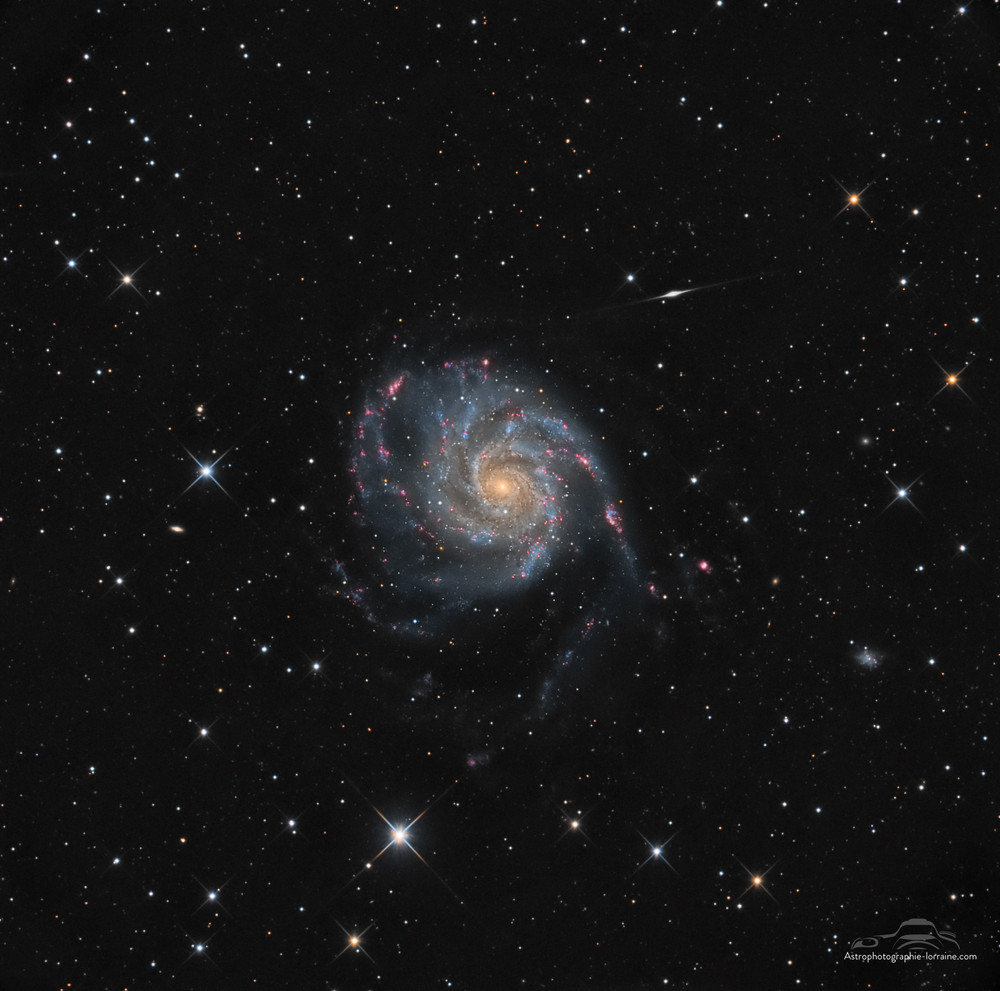The Moulinet galaxy