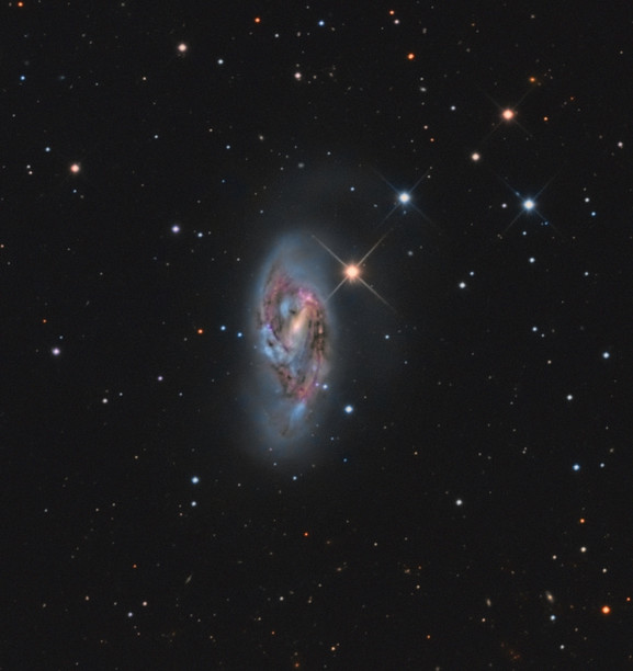 La galaxie M66