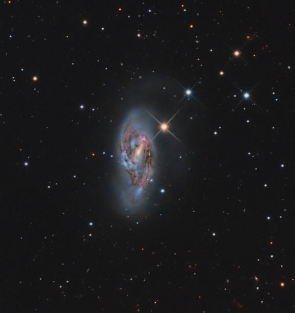 The galaxy M66