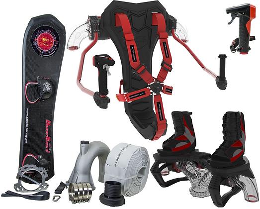 Flyboard (V4), Hoverboard, JetPack & EMK Combo Kit