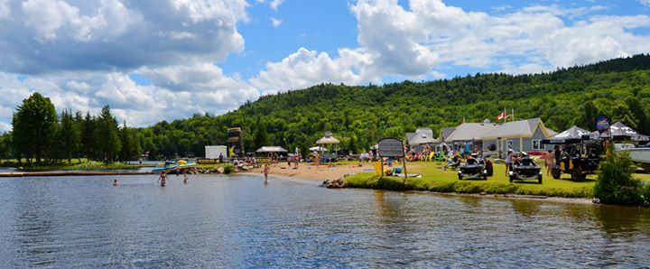 Calabogie Peaks Resort Beach and Boathouse Bar and Grill.
