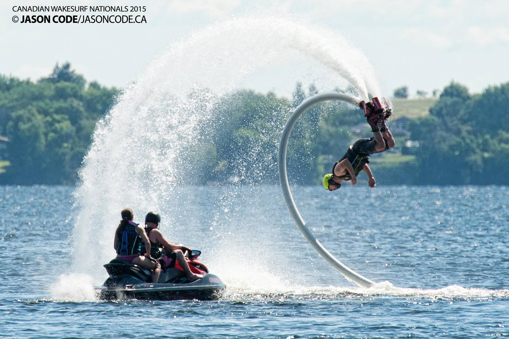 Flyboard at Wake Surf Nationals