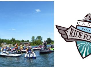 Ontario Flyboard at Big Rideau Ride for Dad 2016!