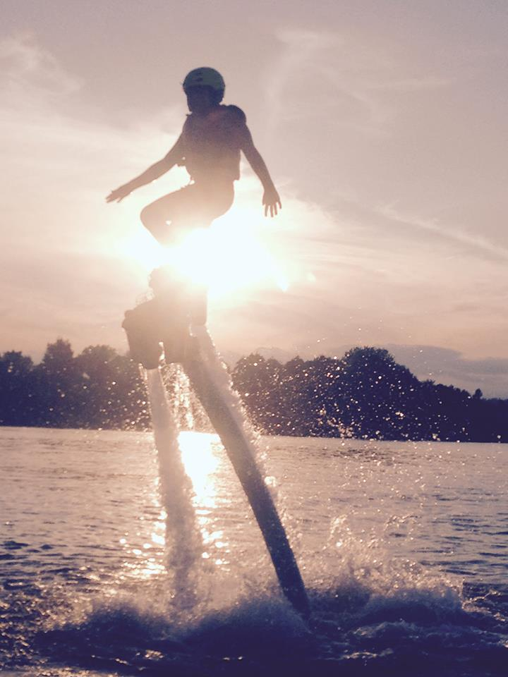Flyboard at Sunnyside Campground