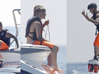 Celebs on the Flyboard
